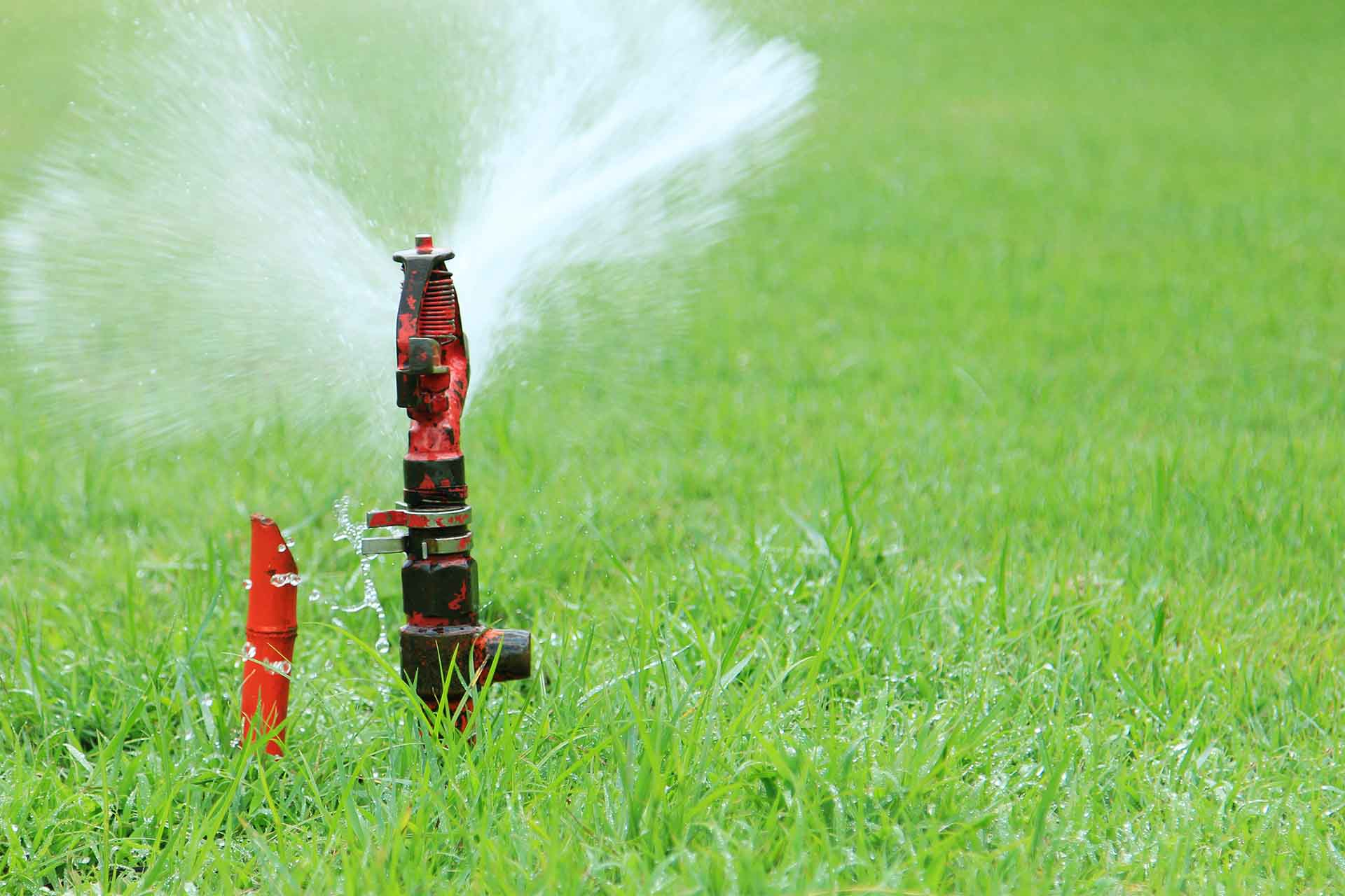 How Do I Maintain My Lawn Sprinkler System?