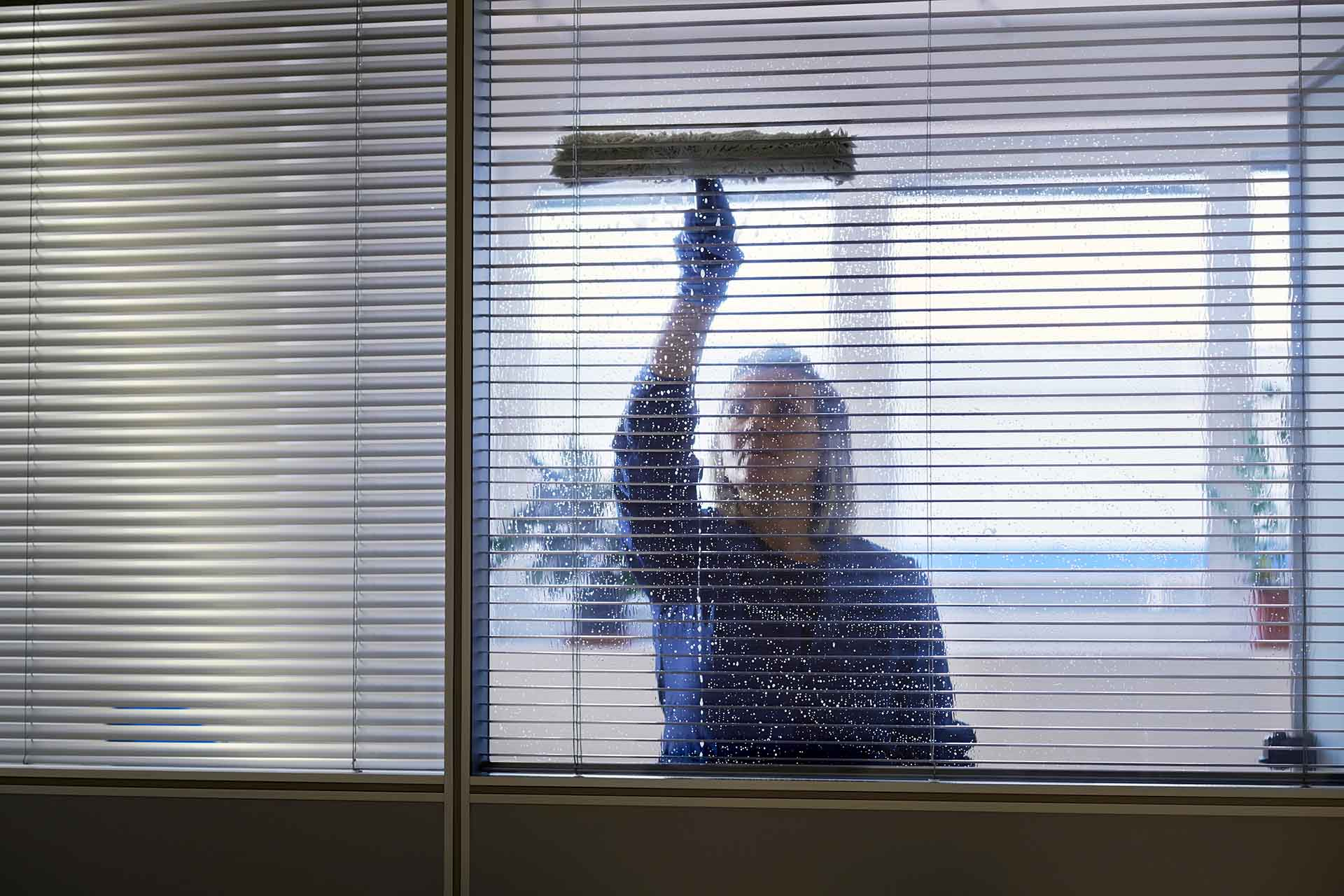 How do you maintain cleanliness in the workplace?